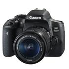 Canon EOS 750D SLR Camera Black + 18-55mm IS STM Lens