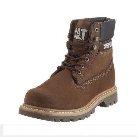 cat colorado casual boots s royal brown mariner