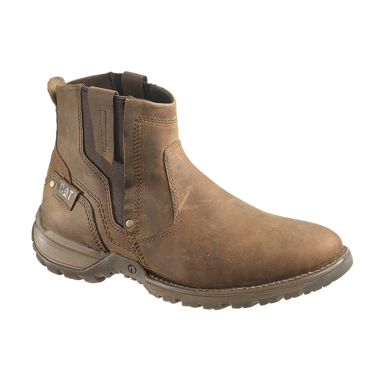 CAT Evander Casual Boots (Men's) - Dark Beige Lite Horn | Uttings ...
