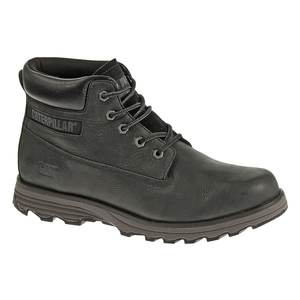 Image of CAT Founder Casual Boots (Men's) - Black Full Grain Leather