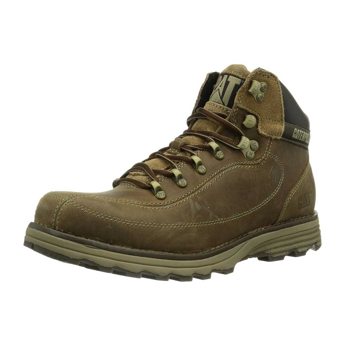 CAT Highbury Mens Walking Boots (Men's) - Desert / Cocoa | Uttings ...