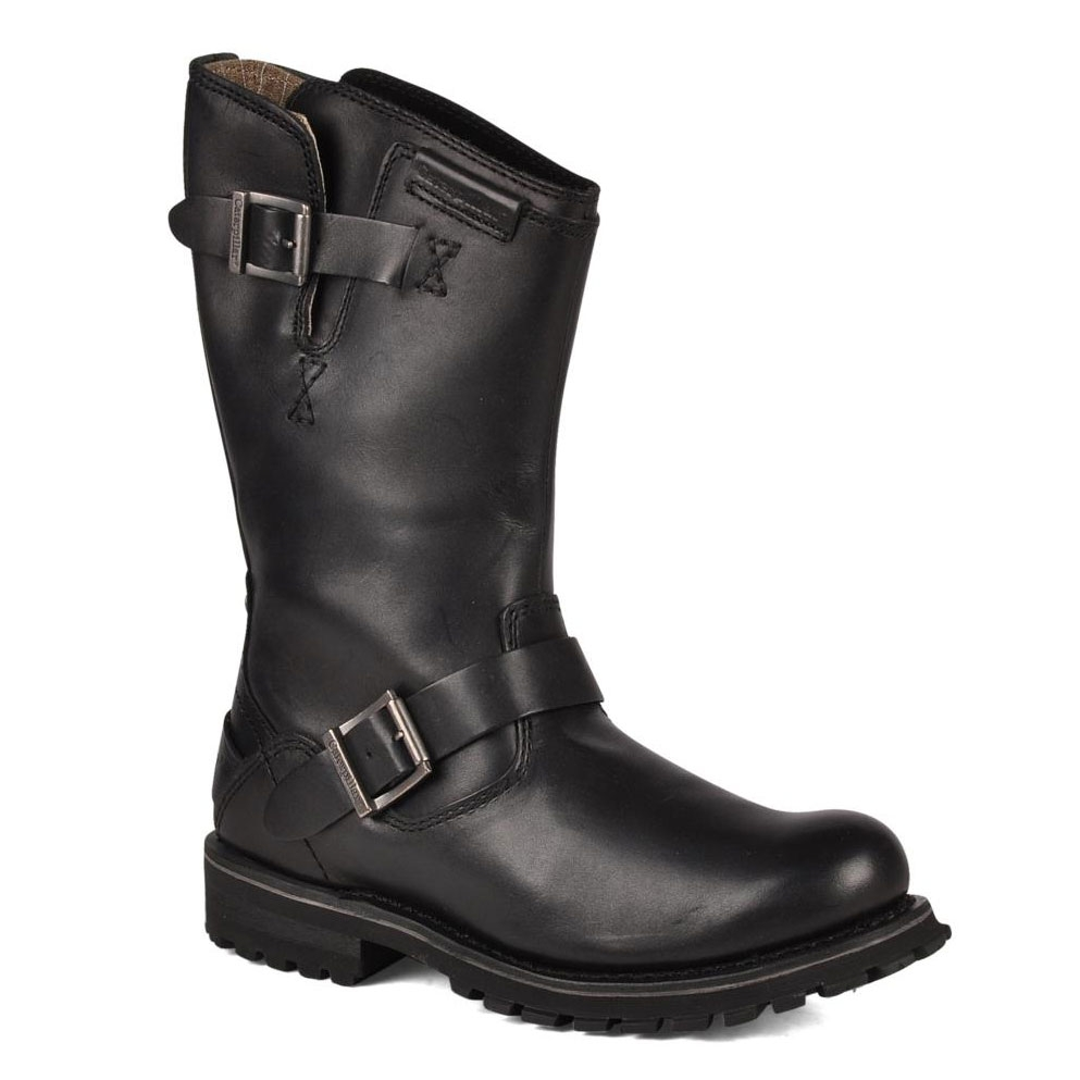 cat mens casual boot black credos uttings co uk