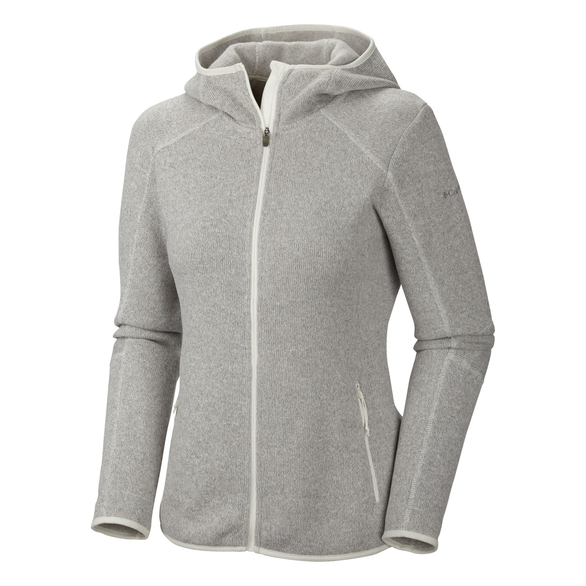 Columbia Altitude Aspect Hooded Fleece Jacket - Womens - Sea Salt ...