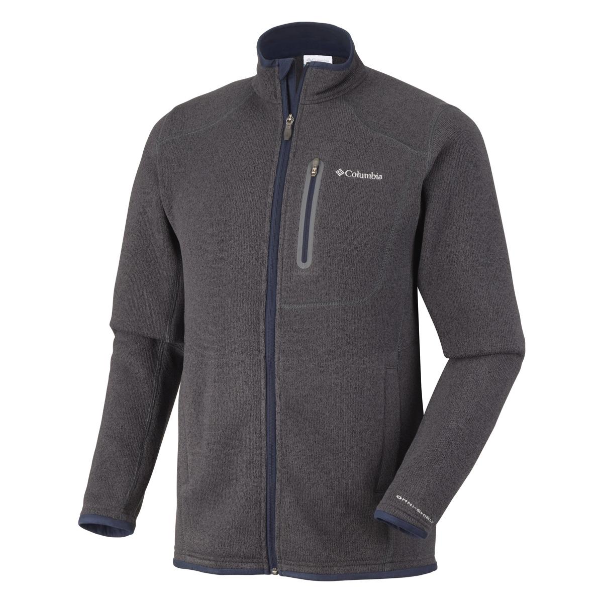 Columbia Altitude Aspect Full Zip Fleece - Mens - India Ink ...