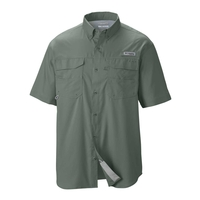 Columbia PFG Blood and Guts III Short Sleeved Woven Shirt