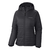 Image of Columbia Go To Hooded Jacket - Womens - Black