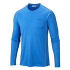 Image of Columbia Midweight II Long Sleeve Top - Mens - Hyper Blue / Tradewinds Grey Stitch