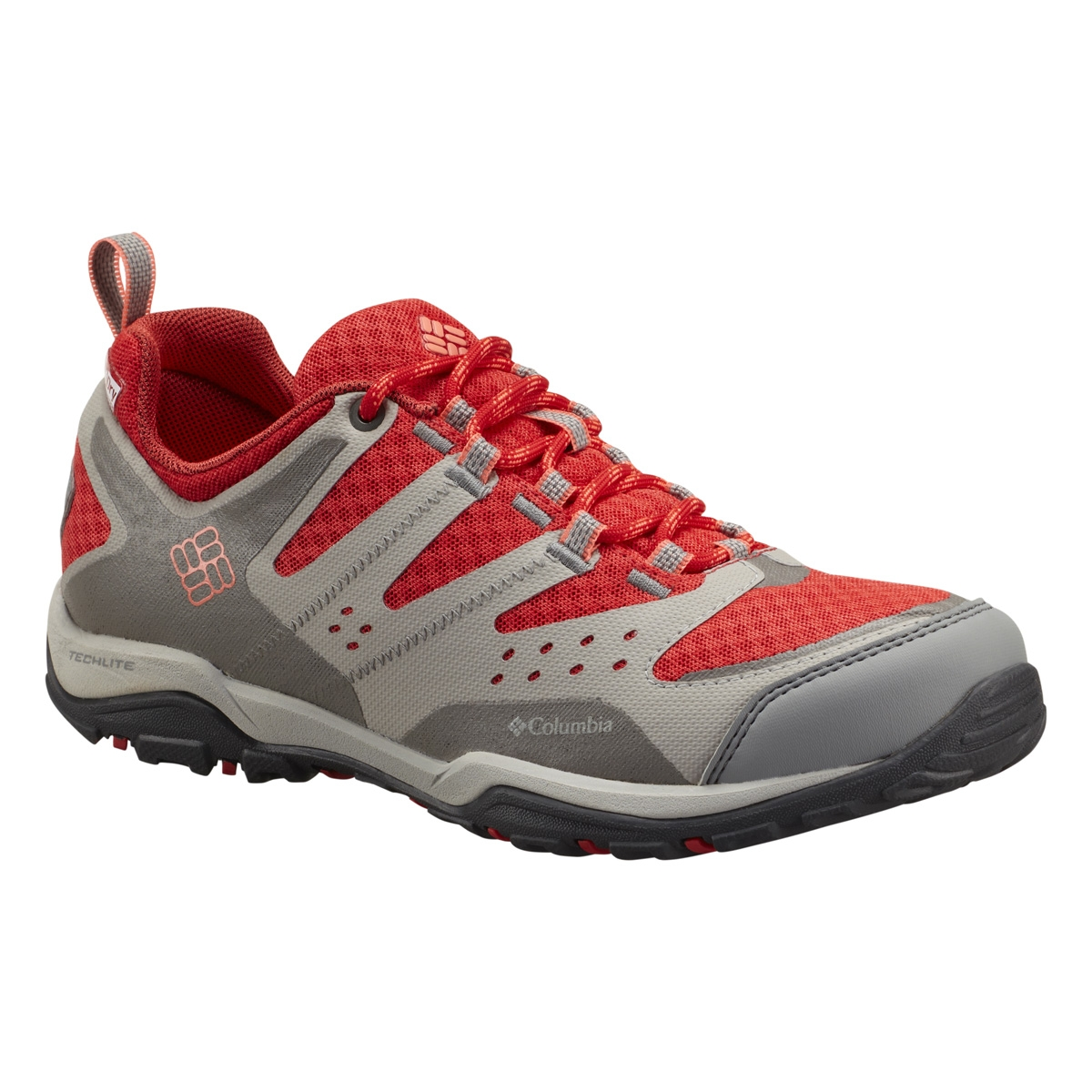 Image of Columbia Peakfreak XCRSN Xcel Outdry Shoes (Women's) - Poppy Red /  Coral