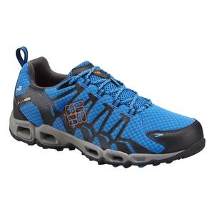 Image of Columbia Ventrailia Outdry Shoes (Men's) - Hyper Blue / Heat Wave
