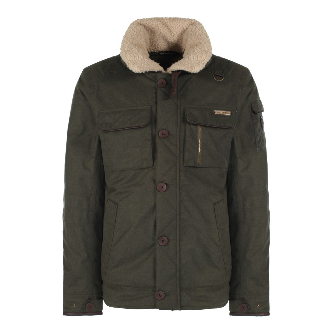 Image of Craghoppers Faceby Bomber Jacket - Parka Green