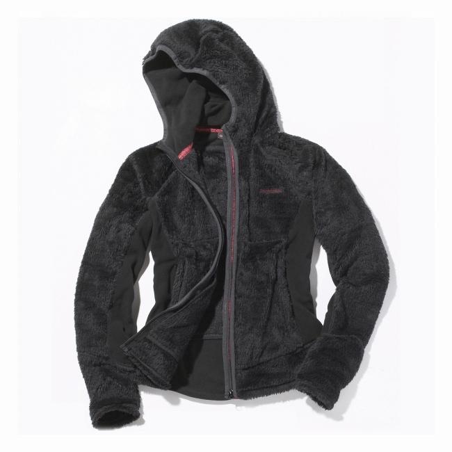 Craghoppers Womens Hamsun Fleece Jacket - Black | Uttings.co.uk