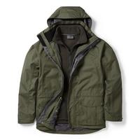 Image of Craghoppers Kiwi 3 In 1 Jacket - Park Green/Dark Khaki