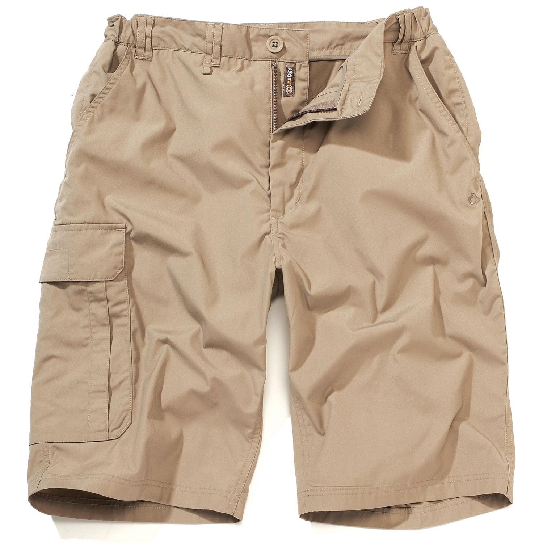 Craghoppers Mens Kiwi Long Shorts - Beach | Uttings.co.uk