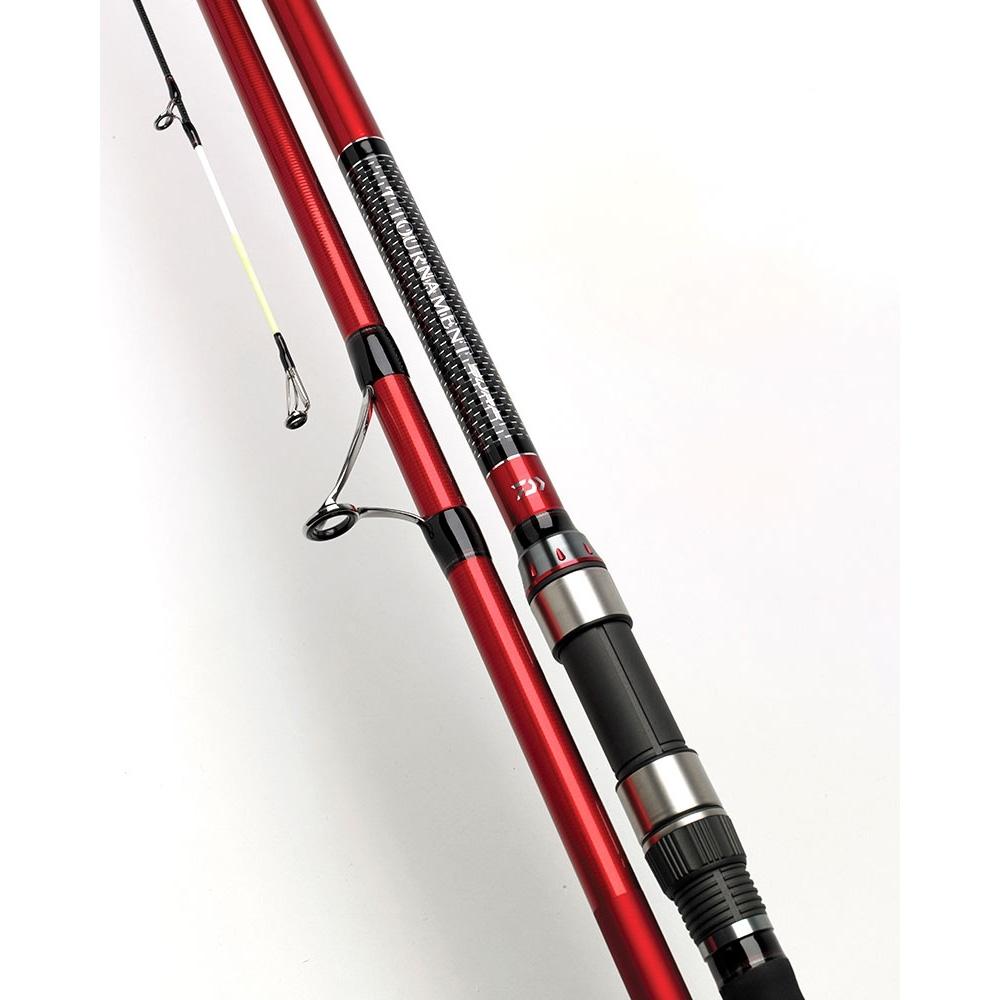 Daiwa 3 piece tournament surf rod 16ft 3 6oz fixed for Daiwa fishing rods