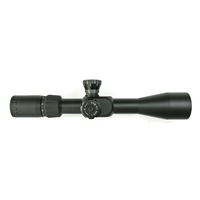 Falcon Optics 4-14x44 FFP Menace (MOA) Rifle Scope - MOA Line - 14MOA
