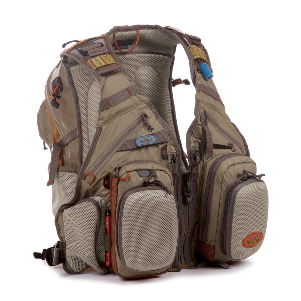 Fishpond wildhorse tech vest pack barnwood for Fishpond uk