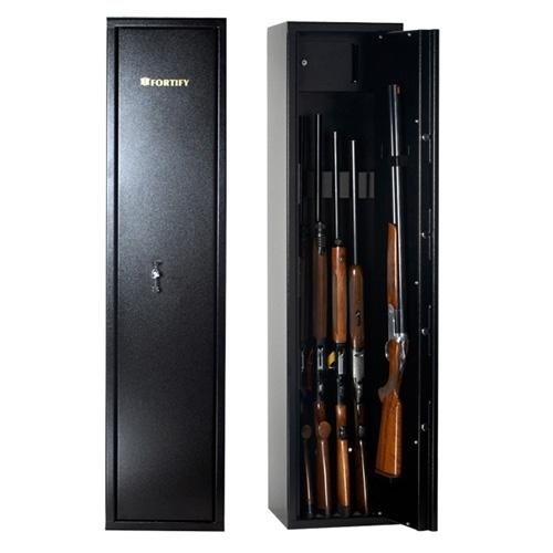 Image Of Fortify K70+ Gun Cabinet   7 Gun Vault Locking Safe ...