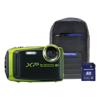 Fujifilm Finepix XP120 16MP Tough Camera Kit With 16GB SD Card And Case