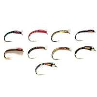 Fulling Mill Value Buzzers Selection - 10 Flies