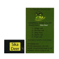Game Magnet Sound Card 7 (Sika Deer) for Universal Game Caller