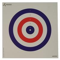 Flip Target Paper Targets - RWB - 50pk