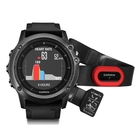 Garmin fenix 3 Sapphire HR GPS Watch - Performance Bundle