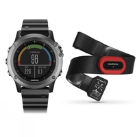 Garmin fenix 3 Sapphire GPS Watch - Performance Bundle