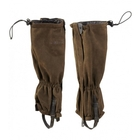 Image of Harkila Angus Leather Gaiters - Green