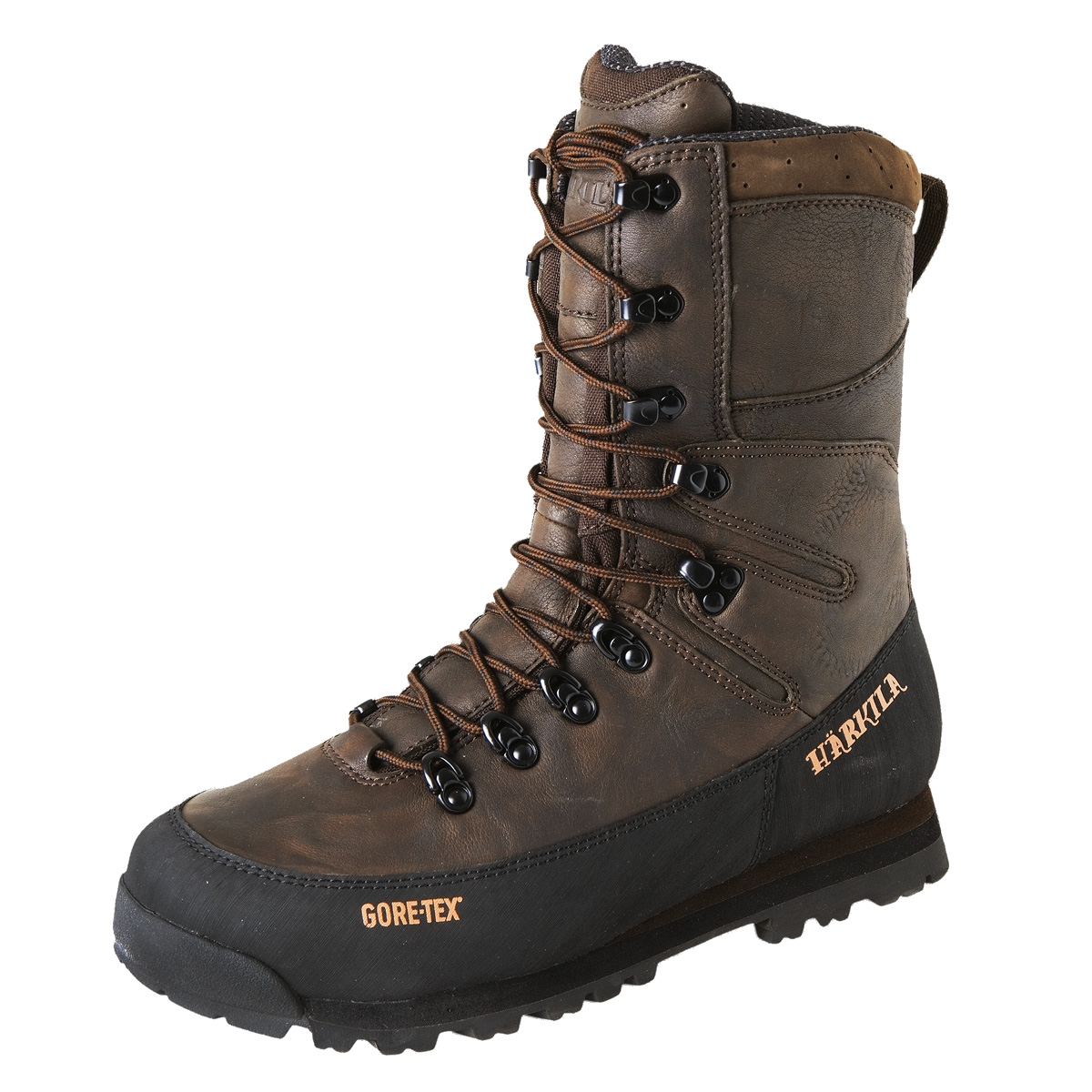 Image of Harkila Mountain Hunt GTX 10 Inch Flex Boot (Men's) - Dark Brown