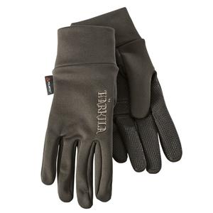 Image of Harkila Power Liner Gloves - Soil Brown