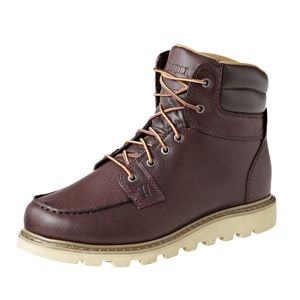 Image of Harkila Rhino Moc 7 Inch Walking Boots (Men's) - Red/Brown