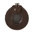 Harkila Round Hip Flask with Leather