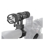Image of Tracer LEDRay Ultra Spot Rechargeable Gun Light Kit inc. FREE Red Flip Up Filter!
