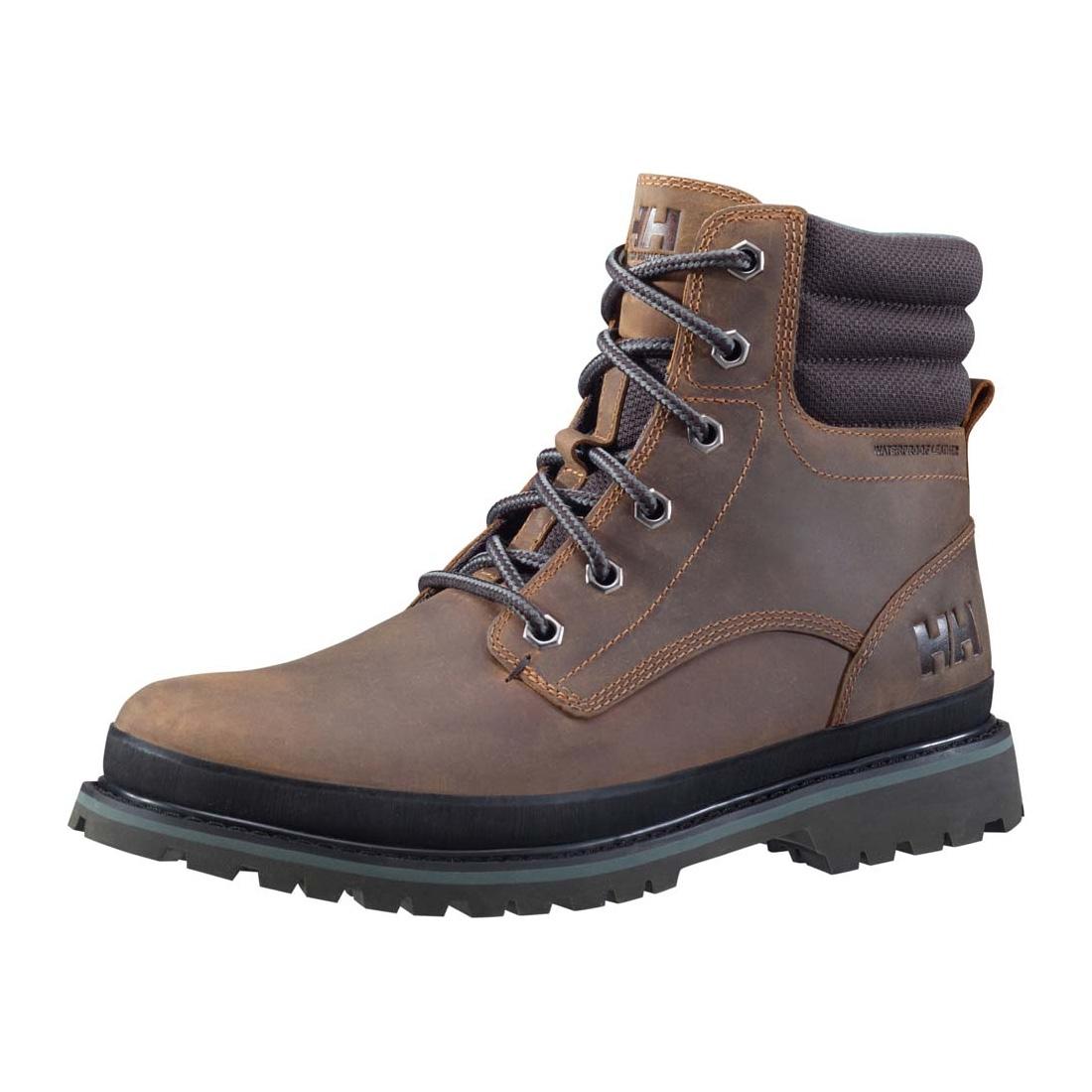 helly hansen gataga winter boots s tobacco brown