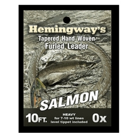 Hemingways Furled Leader - Salmon / Steelhead - 10ft - 0X