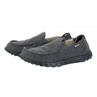Hey Dude Farty Chalet Felt Fur Lined Shoes