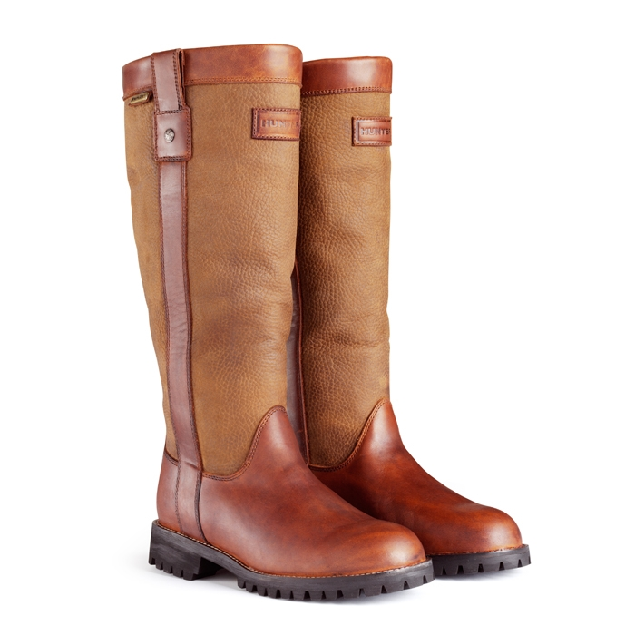 balmoral westerley leather wellington boots