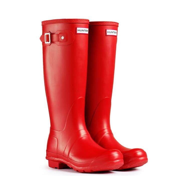 Red Rain Boots Clipart Hunter Original Wellin...