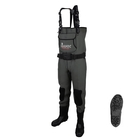 Imax Challenge Chest Neoprene Chest Waders - Cleated Sole With Studs