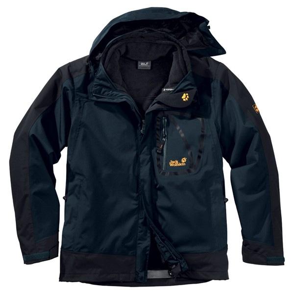 Jack wolfskin jacket 3 in 1