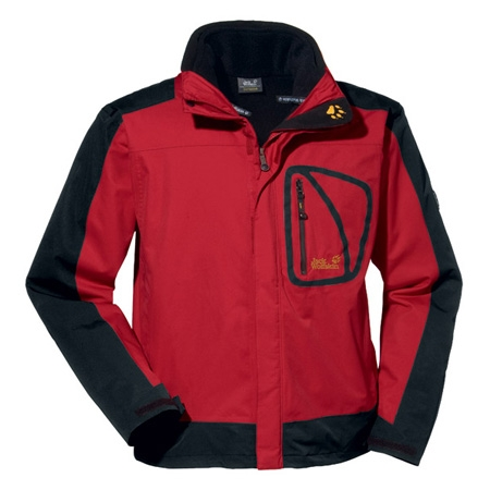 jack wolfskin spectrum 3 in 1 jacket mens tango red. Black Bedroom Furniture Sets. Home Design Ideas