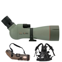 Kowa TSN-883 88mm Prominar Angled Spotting Scope with 25-60x Wide Zoom Eyepiece, Stay On Case and Free TCS Tripod Carrying System