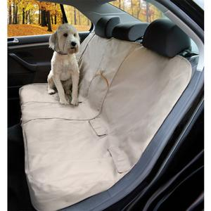 Image of Kurgo Bench Seat Cover - Khaki
