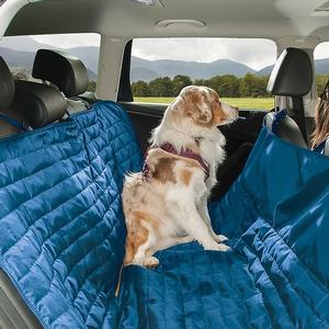 <b>Kurgo</b> Loft Hammock Seat Cover - Blue/Orange
