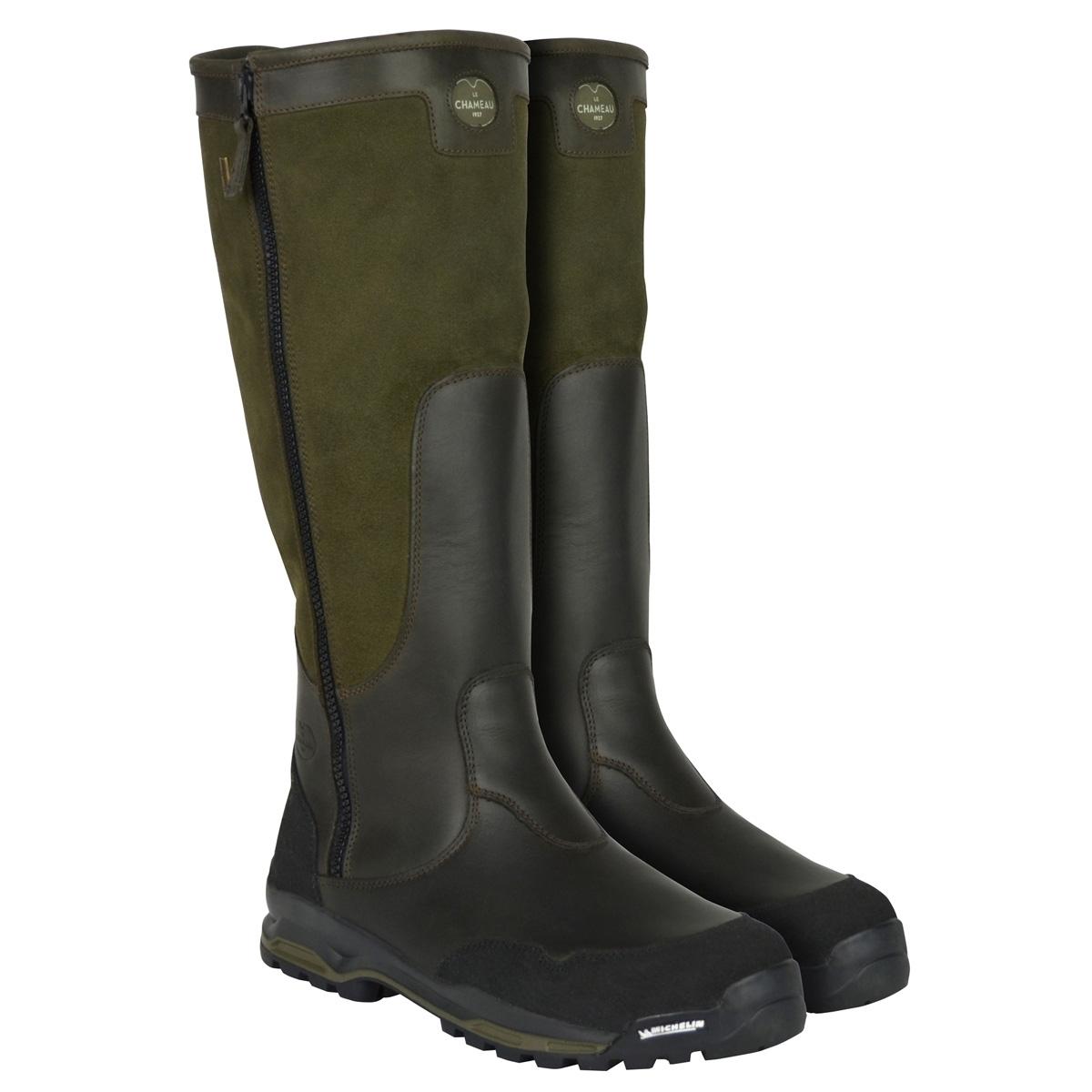Le Chameau Skadi LCX Walking Boots (Mens) - Bronze ...