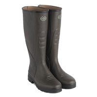 Image of Le Chameau Traqueur Wellingtons (Men's) - Marron Fonce (Brown)