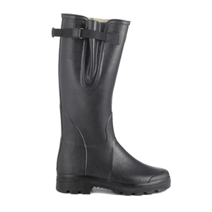 Image of Le Chameau Vierzon Wellington Boots (Men's) - Black