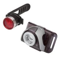 LED Lenser SEO B5R Bike Light Grey and B2R Combo Pack