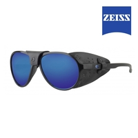 Image of Lenz Discover Spotter Sunglasses - Black / Blue Mirror