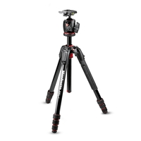 Manfrotto MK190GOA4-BHX 190 Go! MS Aluminium 4 Section Tripod Kit With XPRO Ball Head
